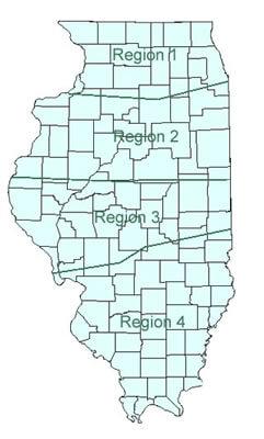 IL Regional Map